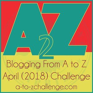 April Blogging A to Z Challenge logo